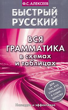 Bystry russki. Vsya grammatika | Быстрый русский. Вся грамматика в схемах и таблицах