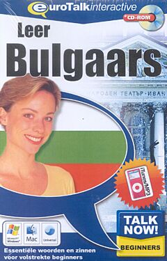 Talk now! Leer Bulgaars cd-rom