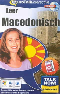Talk now! Leer Macedonisch cd-rom