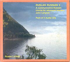 Ruslan Russian 3: Pack of 3 audio-CD's