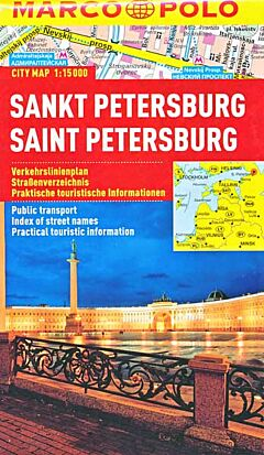 Marco Polo city map: Sint Petersburg