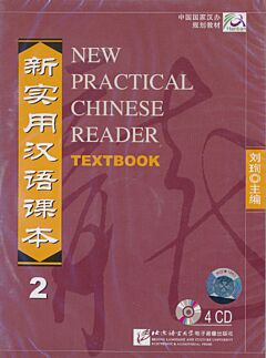 New Practical Chinese Reader 2: Textbook 4 Cd's