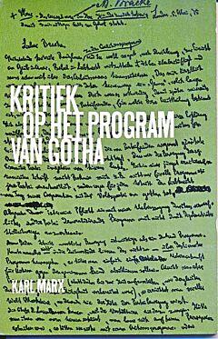 Kritiek op het program van Gotha