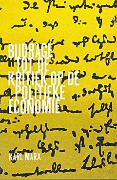 Bijdrage tot de kritiek op de politieke economie